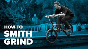 Как сделать смит грайнд на BMX (How to smith grind BMX)