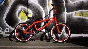 Тест драйв велосипеда BMX Agang Pimp 2.0 2014
