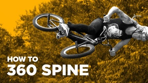 Как сделать 360 на спайне (How to 360 Spine Transfer BMX)