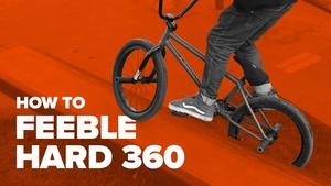 Как сделать фибл грайнд хард 360 на BMX (How to feeble grind hard 360 on BMX)
