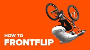 Как сделать фронтфлип на BMX (How to frontflip BMX)