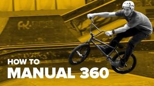 Как сделать мануал 360 на BMX (How to Manual 360 BMX)