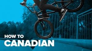 Как сделать Канадиан Футджем на BMX (How to Canadian Footjam BMX)