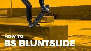 Как сделать bs bluntslide на скейте